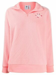 adidas Half-Zip Fleece sweatshirt - PINK