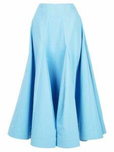 Rosie Assoulin high waisted skirt - Blue