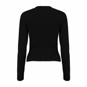 Michael Kors Collection Monogram Cashmere Sweater