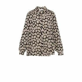 Gerard Darel Crepe Marlon Shirt