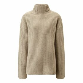 Joseph High Neck Cashmere Luxe Knit
