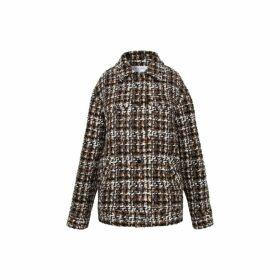 Gerard Darel Multi-colored Tweed Veria Jacket