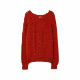 Gerard Darel Openwork Knit Simone Sweater