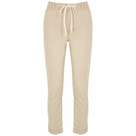 Moncler Tie-dye Hooded Cotton-blend Sweatshirt