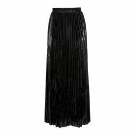 HASANOVA - Noir Silk Skirt