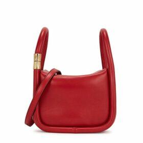 Boyy Wonton 20 Red Leather Cross-body Bag
