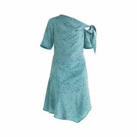 PAISIE - Carnaby Tie Shoulder Dress