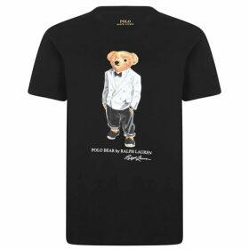 Polo Ralph Lauren Oversized Tuxedo Polo Bear T Shirt
