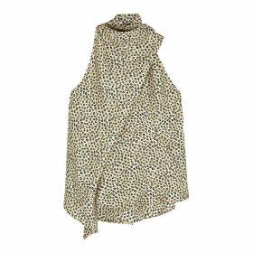 Petar Petrov Cher Leopard-print Silk Top