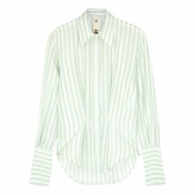 Petar Petrov Chablis Striped Silk Shirt