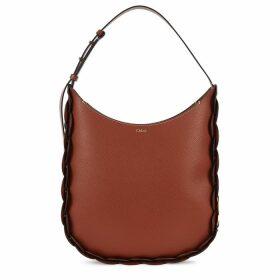 Chloé Darryl Large Chestnut Shoulder Bag