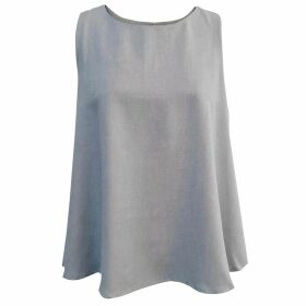 L2R THE LABEL - Pocabombas Skirt In Rescued Red Leather