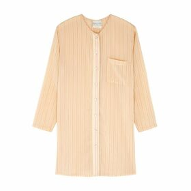 Forte forte Cream Striped Shirt