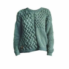 THE KNOTTY ONES - Heartbreaker Knit In Moss Green