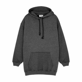 Acne Studios Fanita Grey Hooded Jersey Sweatshirt
