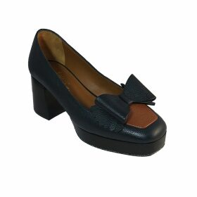 NOT - Wine Red Wool Crepe Oversize Sweater With Curved Yoke