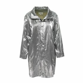 Sugarhill Brighton - Rita Light Grey Prism Rainbow Knit Sweater