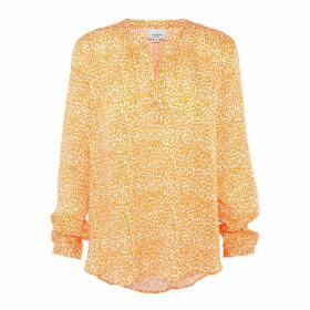 Primrose Park London - Sandy Open Shirt In Leo