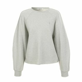 blank 03 - Puff Sleeved Sweatshirt Grey