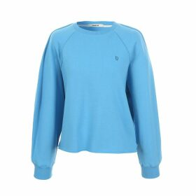 blank 03 - Puff Sleeved Sweatshirt Blue