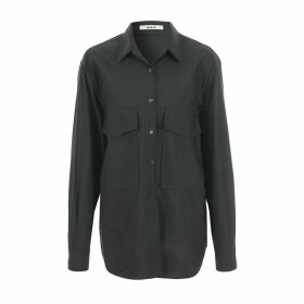 blank 03 - Oversized Pocket Shirt Black