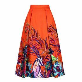 Sika'a - Sika'A X Savannah African Print Midi Skirt