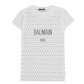 Balmain Sequin T Shirt