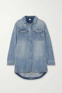 Ksubi - Stone Rose Denim Shirt - Light denim