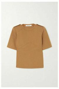 Max Mara - Cotton-jersey T-shirt - Camel