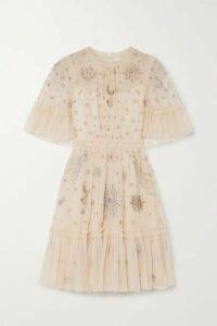 Needle & Thread - + Jasmine Hemsley Ether Embellished Tulle Mini Dress - Ivory
