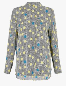 Autograph Polka Dot Long Sleeve Shirt