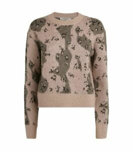 AllSaints Asko Camouflage Sweater