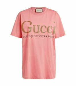 Gucci Slogan T-Shirt