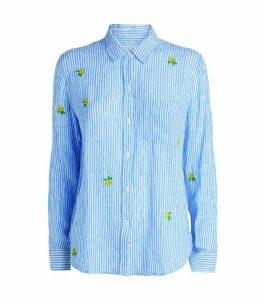Rails Charli Embroidered Stripe Shirt