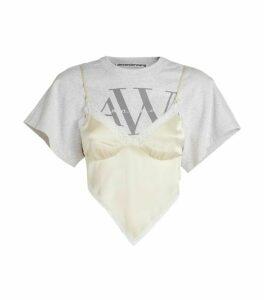 Alexander Wang Hybrid Lingerie T-Shirt