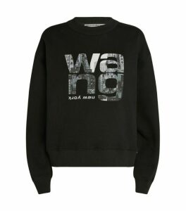 Alexander Wang Cotton Logo Sweatshirt