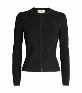 Alexander McQueen Knitted Button-Up Cardigan