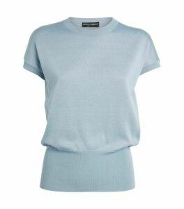 Dolce & Gabbana Silk Knit T-Shirt