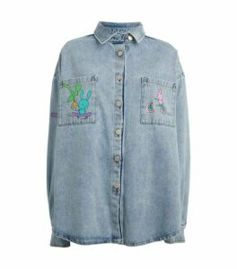 Natasha Zinko Denim Shirt Jacket