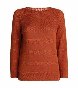 Piazza Sempione Linen-Cotton Sweater