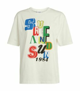Claudie Pierlot Cotton Graphic T-Shirt