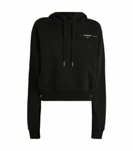 Off-White Puzzle Arrows Cropped Hoodie