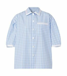 Burberry Oversized Gingham Check Shirt