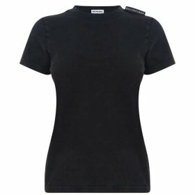 Balenciaga Shoulder Tab T Shirt