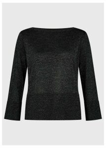 Logan Sparkle Sweater Black Silver
