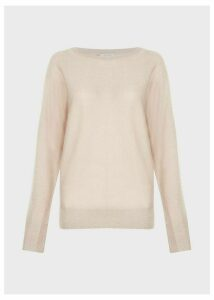 Sara Sparkle Sweater Oyster
