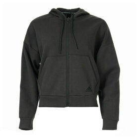 Womens Must Haves 3-Stripes Zip Hoody
