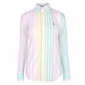 Polo Ralph Lauren Heidi Striped Pique Shirt