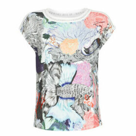 Desigual  VIENA  women's T shirt in Multicolour