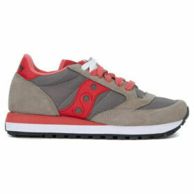 Saucony  Jazz grey and pink suede and nylon sneakers  women's Shoes (Trainers) in Grey
